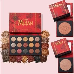 🖤New ColourPop x Mulan 3pc. Eyeshadow/Blush Set🖤